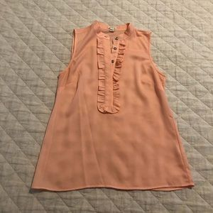 J. Crew sleeveless blouse size 0